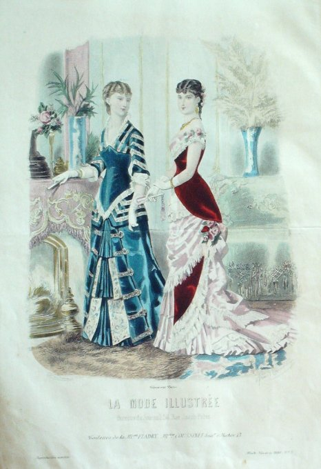 LA MODE ILLUSTREE-1880/03-(Maison Mme FLADRY COUSSINET)