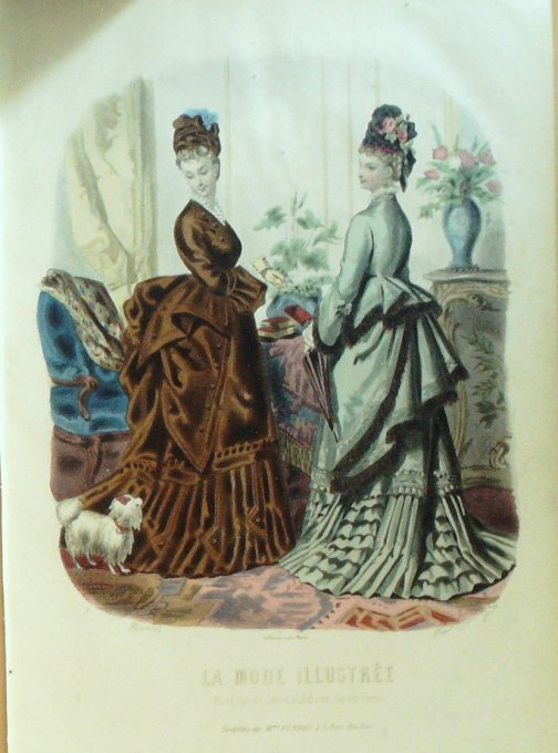 La MODE ILLUSTREE-1874/05-(Maison Mme FLADRY)