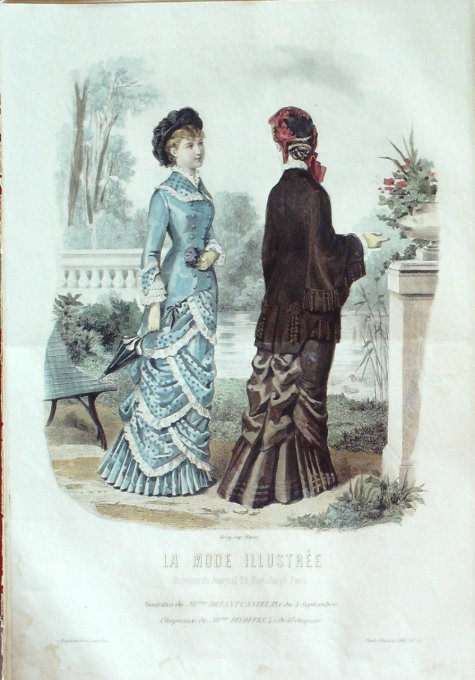 LA MODE ILLUSTREE-1880/14-(Maison Mme BREANT CASTEL DELOFFRE)