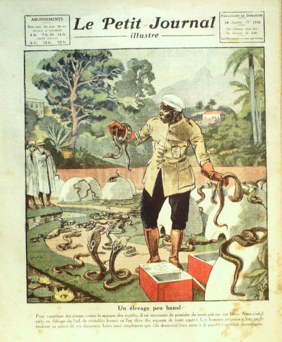 Le Petit Journal-1923-1715-GROENLAND/ILE JAN MAYN-AFRIQUE SUD-News photos