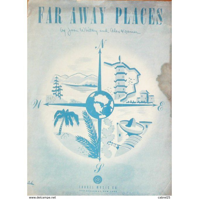 PARTITION-WHITNEY JOAN/KRAMER ALEX-FAR AWAY PLACES-1948-162