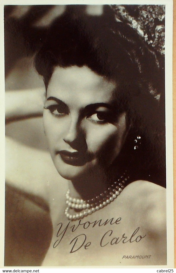 COLLINS JOAN-véritable- photo ACTRICE-Cpa-1950 -139