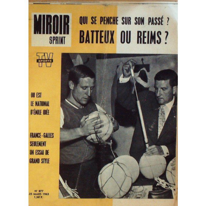 MIROIR SPRINT-1963-877-25/3-BATTEUX-REIMS-EMILE IDEE-FRANCE GALLES-KITZBUEL-NEVADA